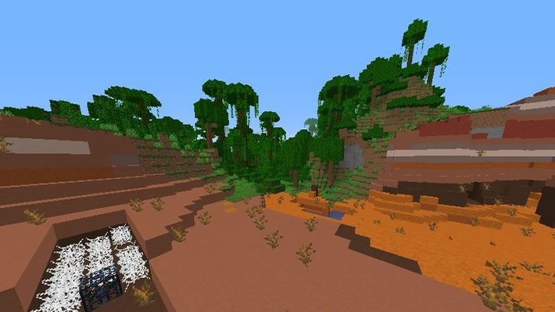 All Minecraft Biomes and Structures Seed Screenshot 2