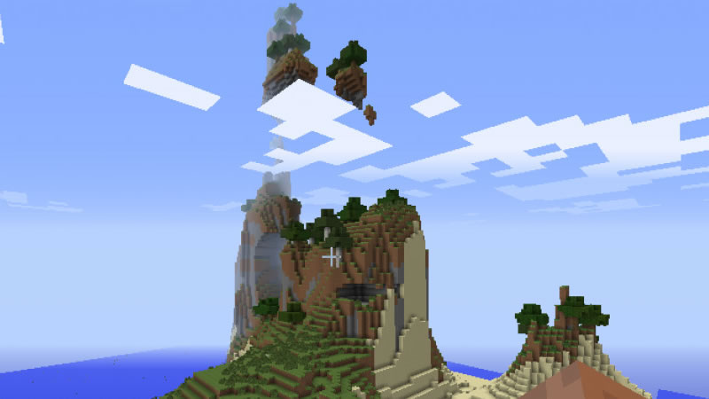 All Minecraft Biomes and Structures Seed Screenshot 3