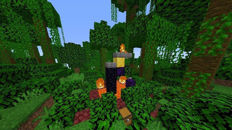 All Minecraft Biomes and Structures Seed Screenshot