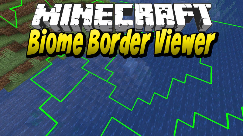Biome Border Viewer Mod for Minecraft