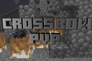 Crossbow PvP Map for Minecraft Java Edition