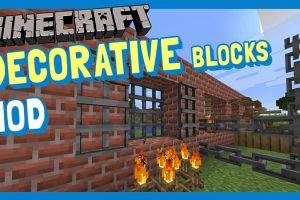 Decorative Blocks Mod for Minecraft