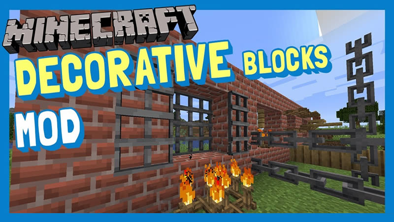 Decorative Blocks Mod for Minecraft