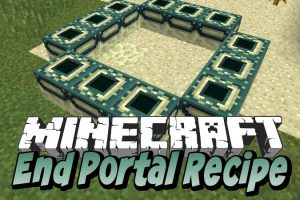 End Portal Recipe Mod for Minecraft