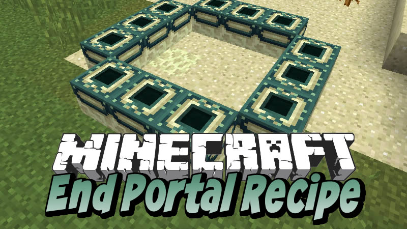End Portal Recipe Mod for Minecraft
