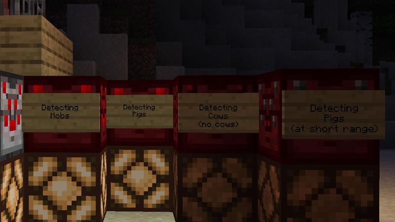 Entity Detectors Mod Screenshot