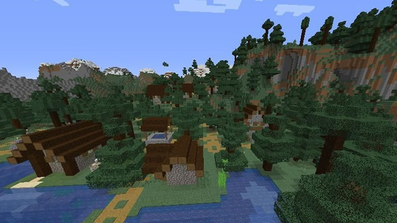 Four Villages and Mansion Seed Screenshot