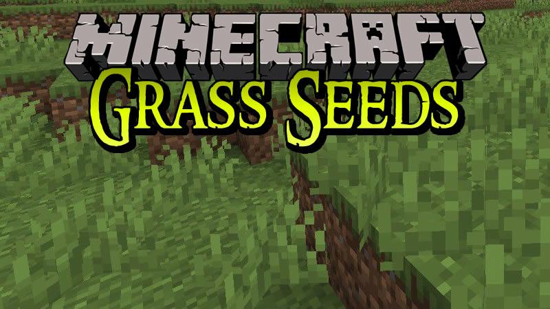 Grass Seeds Mod for Minecraft