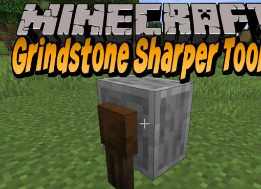 Grindstone Sharper Tools Mod for Minecraft