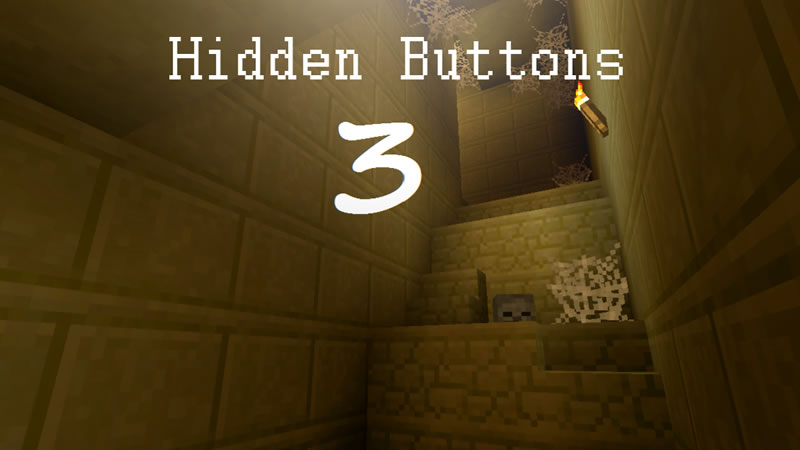 Hidden Buttons 3 Map for Minecraft