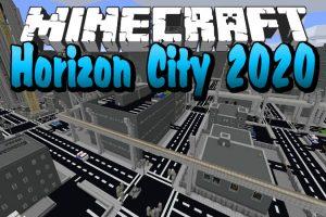 Horizon City 2020 Map for Minecraft