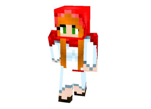 Little Red Riding Hood Skin for Minecraft Girls
