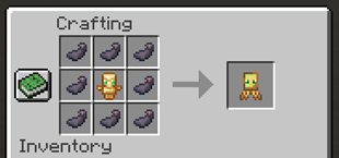 More Totems Of Undying Mod Squid Totem Crafting Recipe