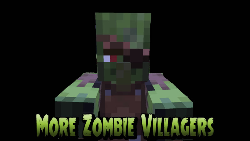 More Zombie Villagers Mod for Minecraft