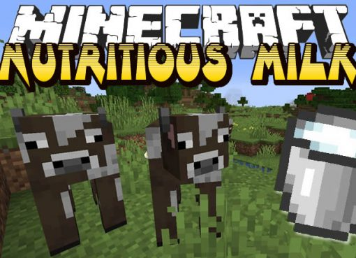 Nutritious Milk Mod for Minecraft
