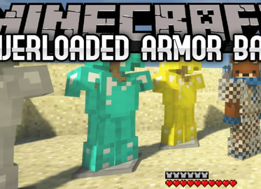 Overloaded Armor Bar Mod for Minecraft