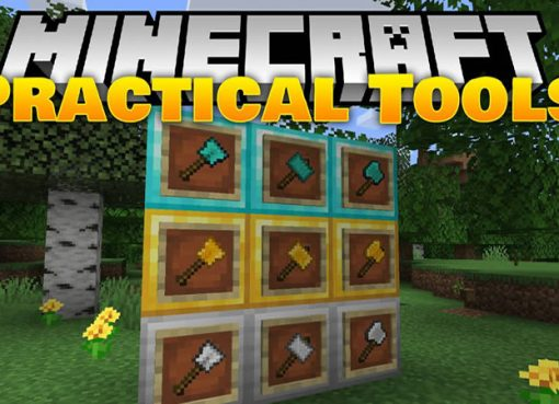 Practical Tools Mod for Minecraft