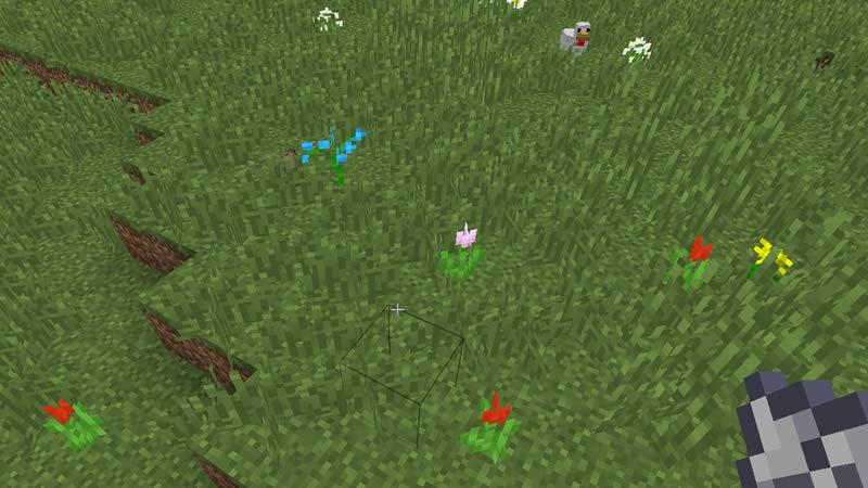 Random Bone Meal Flowers Mod Screenshot