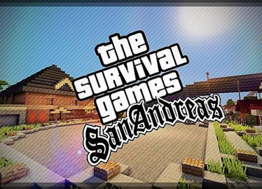 San Andreas Map for Minecraft