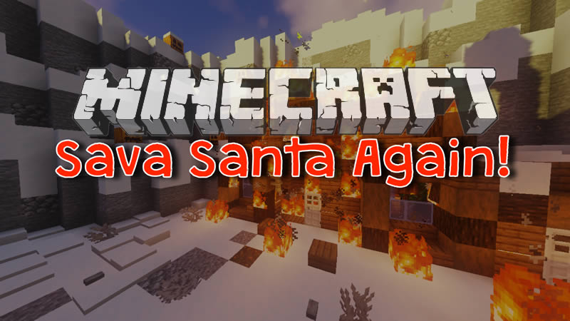 Save Santa Again! Map for Minecraft 1.16.3/1.15.2