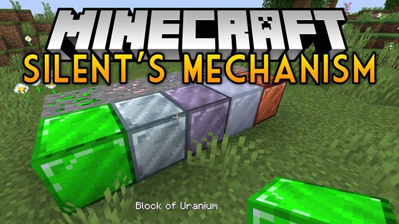 Silents Mechanisms Mod for Minecraft