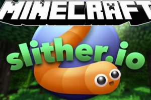 Slither io Minecraft Map