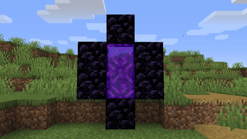 Smaller Nether Portals Mod Screenshot 2