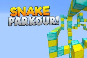 Snake Parkour Map for Minecraft