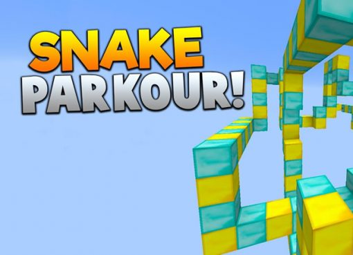 Snake Parkour Map for Minecraft