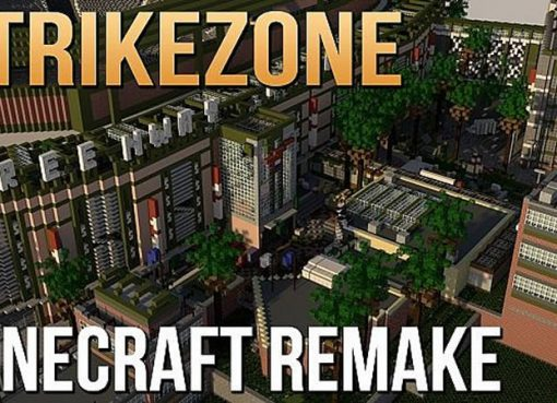 Strikezone (Call of Duty: Ghosts) Map for Minecraft