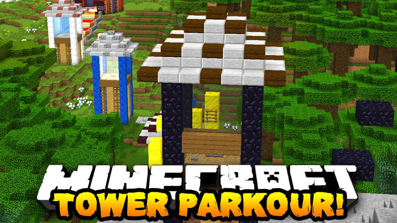 Tower Parkour Map by ShinyDiam0nd for Minecraft