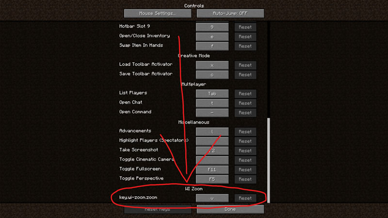 WI Zoom Mod Screenshot 2