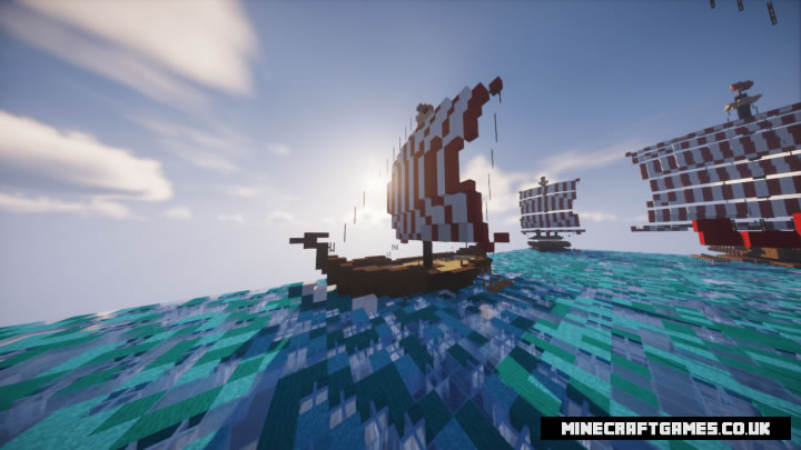 A fleet of Vikings Map Screenshot 2