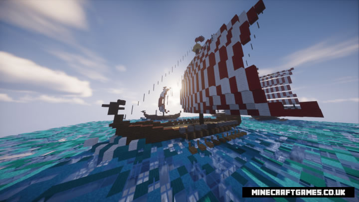 A fleet of Vikings Map Screenshot