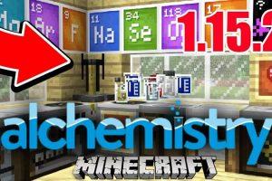 Alchemistry Mod for Minecraft