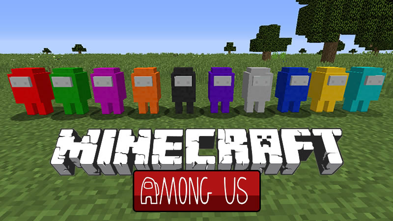 Among Us Mobs Mod for Minecraft