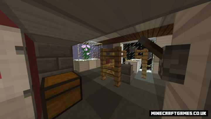 Among Us The Skeld Map For Minecraft 1 8 9 Minecraftgames Co Uk