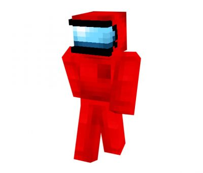 Among US Crewmate Skin for Minecraft