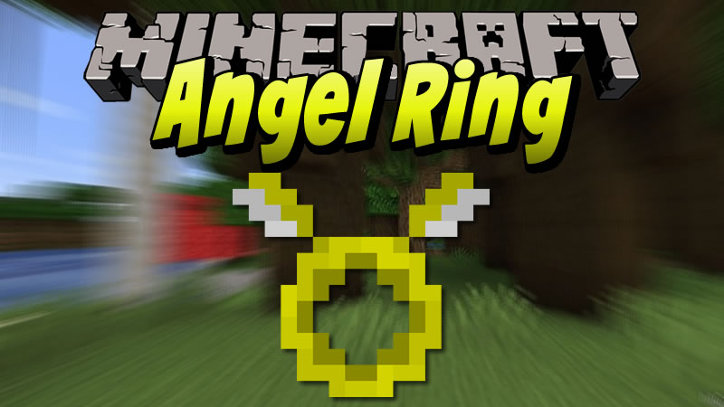 Angel Ring Mod for Minecraft