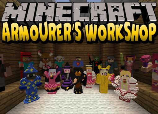 Armourers Workshop Mod for Minecraft