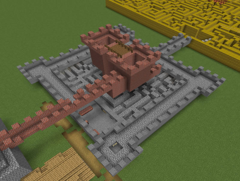 Autumn Maze Adventure Map Screenshot 2
