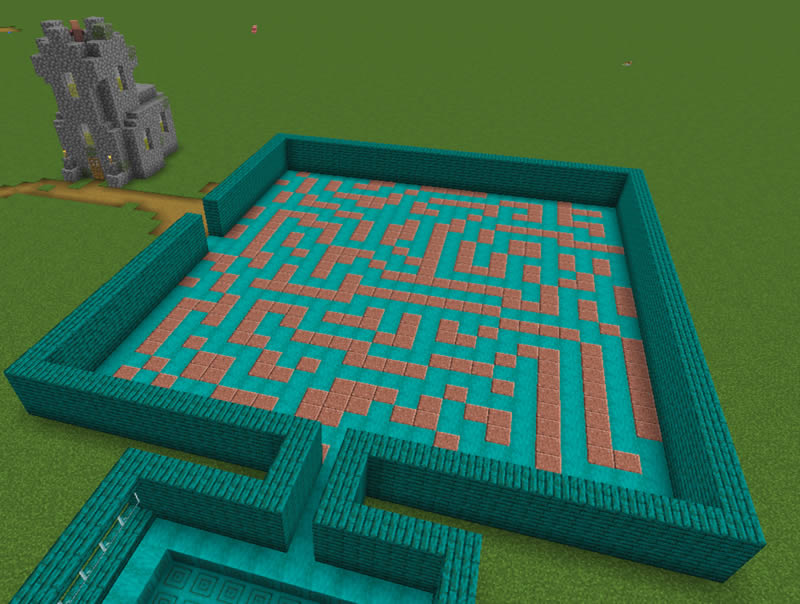Autumn Maze Adventure Map Screenshot 3