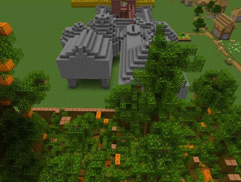 Autumn Maze Adventure Map Screenshot
