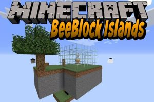 BeeBlock Islands Map for Minecraft