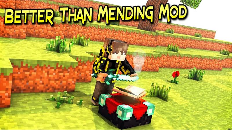 Better Than Mending Mod for Minecraft
