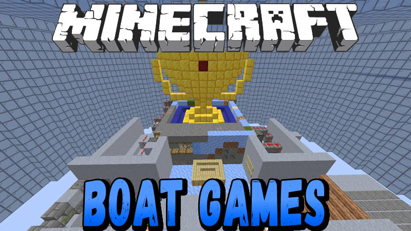 Boat Games Map for Minecraft 1.14.4