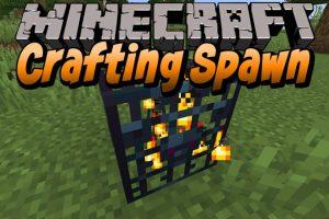 Crafting Spawn Mod for Minecraft