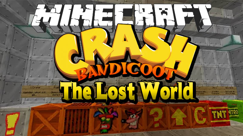 Crash Bandicoot The Lost World Map for Minecraft