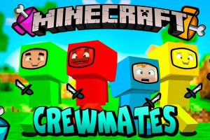 Crewmates Mod for Minecraft (Among Us)