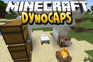 Dynocaps Mod for Minecraft